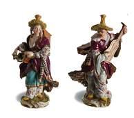 Meissen, Malabar Man & Woman, Models 1569 & 1576