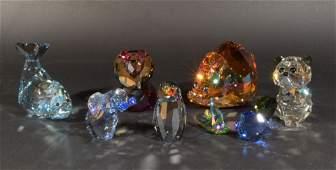 7 Boxed Swarovski Crystal Lovlots Series