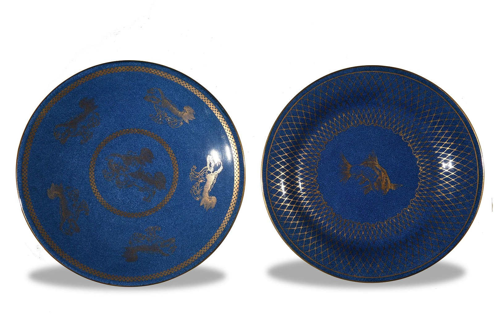 2 Wedgwood Porcelain Plates