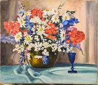 Francis F. Brown, Floral Still Life