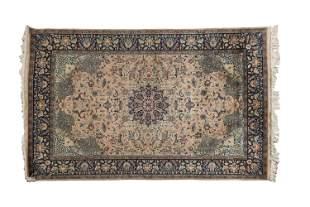 Kashmir Kashan Style Rug 88 x 55 Inches