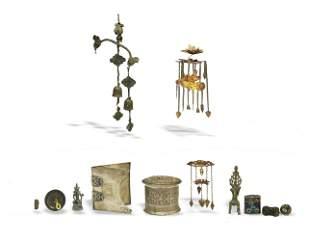Group of 10 Metal Items