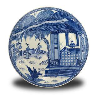 Chinese Charger with 'West Chamber', Kangxi