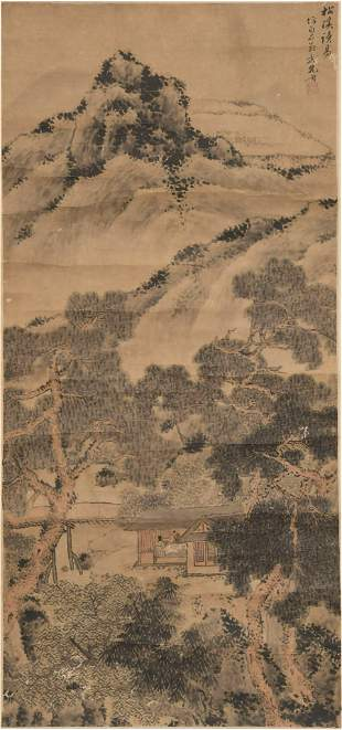 Chinese Landscape Painting by Long Sheng