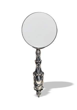 Sterling Art Nouveau Handled Magnifying Glass