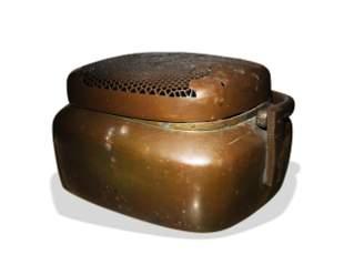 Chinese Bronze Hand Warmer, 18th Century
