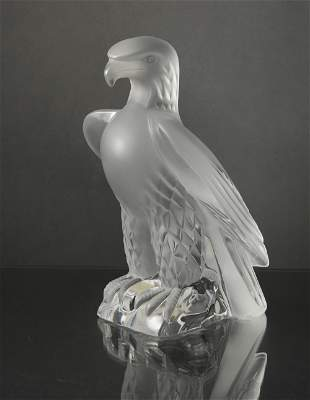 Lalique Crystal Eagle Model 11643
