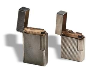 2 S.T. Dupont Lighters, Ligne I and Standard