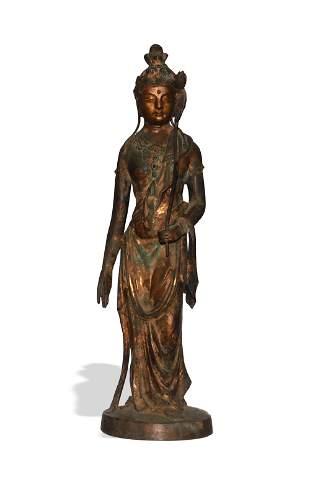 Bronze Statue of Guanyin