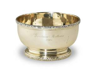 Shreve, Crump and Low Sterling Bowl, dated 1904