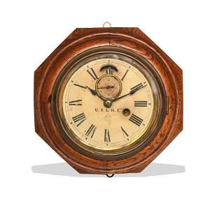 Ansonia U.S.L.H.E. Lighthouse Clock, Sandy Hook