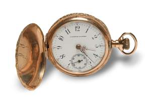 J. Wittlig and Sons 3s 14K Gold Pocket Watch