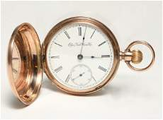 Elgin 18K Gold 11 Jewel 18s Pocket Watch