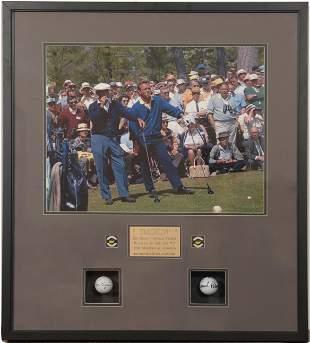 Ben Hogan & Arnold Palmer Autographed Balls