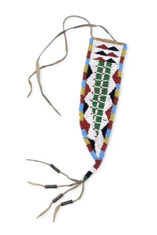 Plains Indian Beaded Knife Sheath
