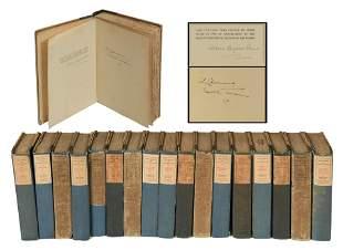Mark Twain Definitive Edition, Signed 883/1024