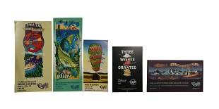 5 Clyde's Restaurant Promotional Poster Boards