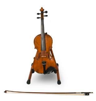 German First National Institute Violin, Cased