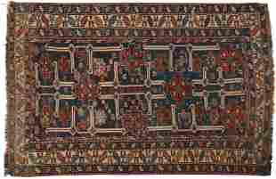Antique Kuba Afshan Rug