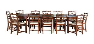 Dining Table & Chairs by A. Apprich, New Orleans