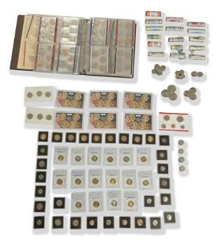 Large Lot of Modern US Mint Sets & Proof Coins Etc