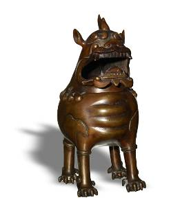 Chinese Beast-Form Censer, 18-19th Century