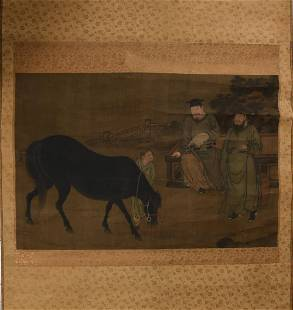 Chinese Painting of Bo Le, Ming dynasty or Earlier