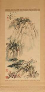 Chinese Landscape Painting by Zhang Daqian, 1967