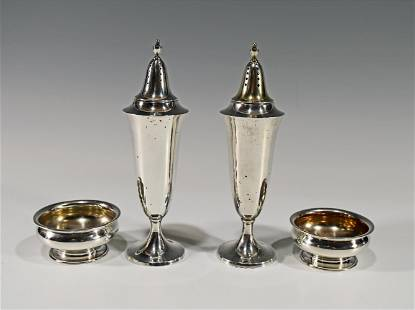 Gorham Sterling Open Salts and Shakers