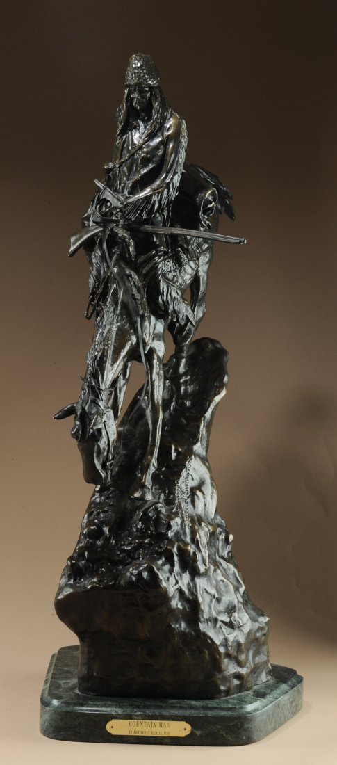 Replica Remington Mountain Man Bronze