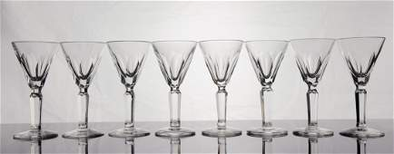 Set of 8 Waterford Crystal Liqueur Glasses