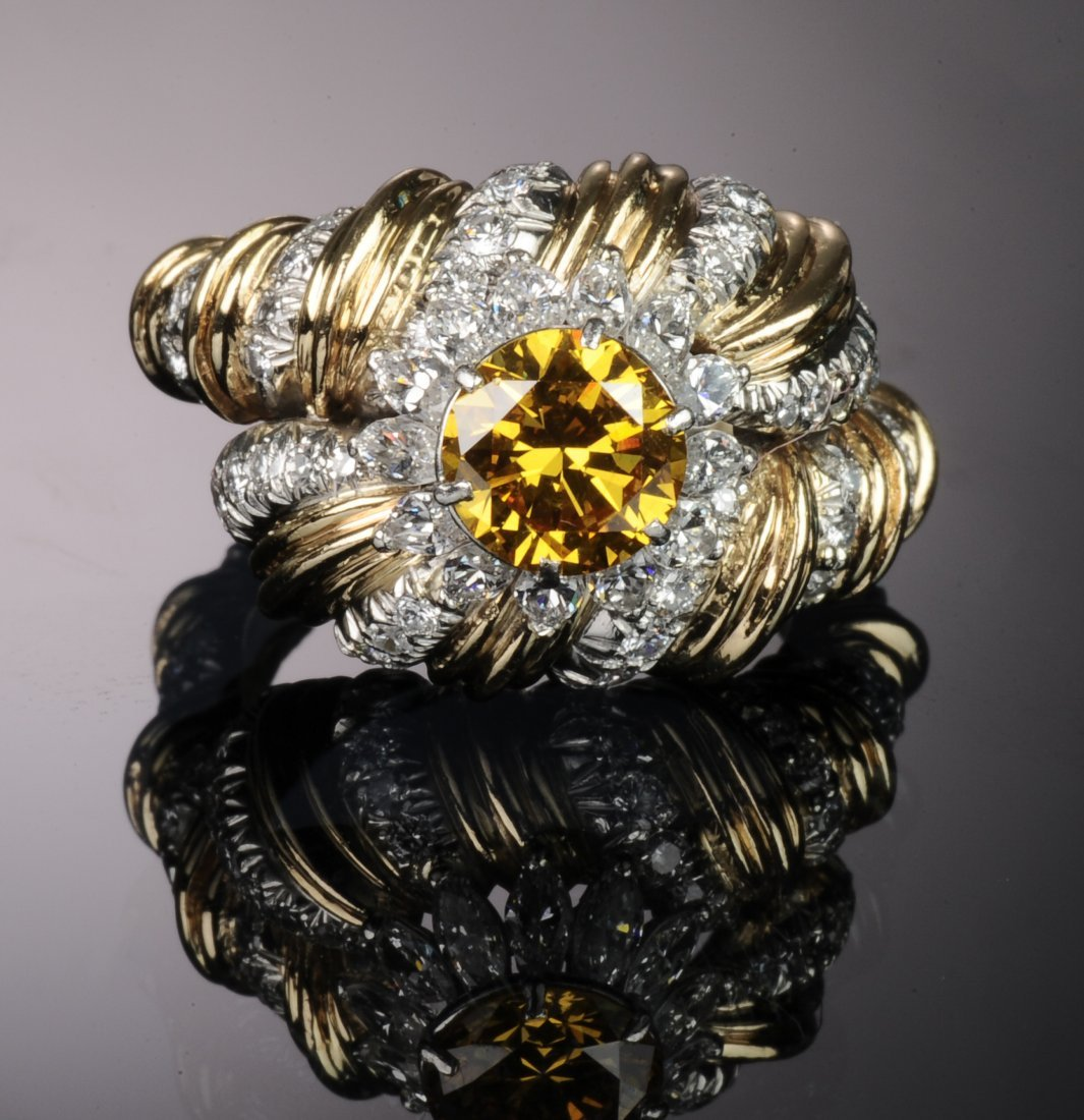 TIFFANY SCHLUMBERGER Signed Clare Boothe Luce Ring