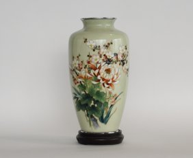 Japanese Enameled Vase