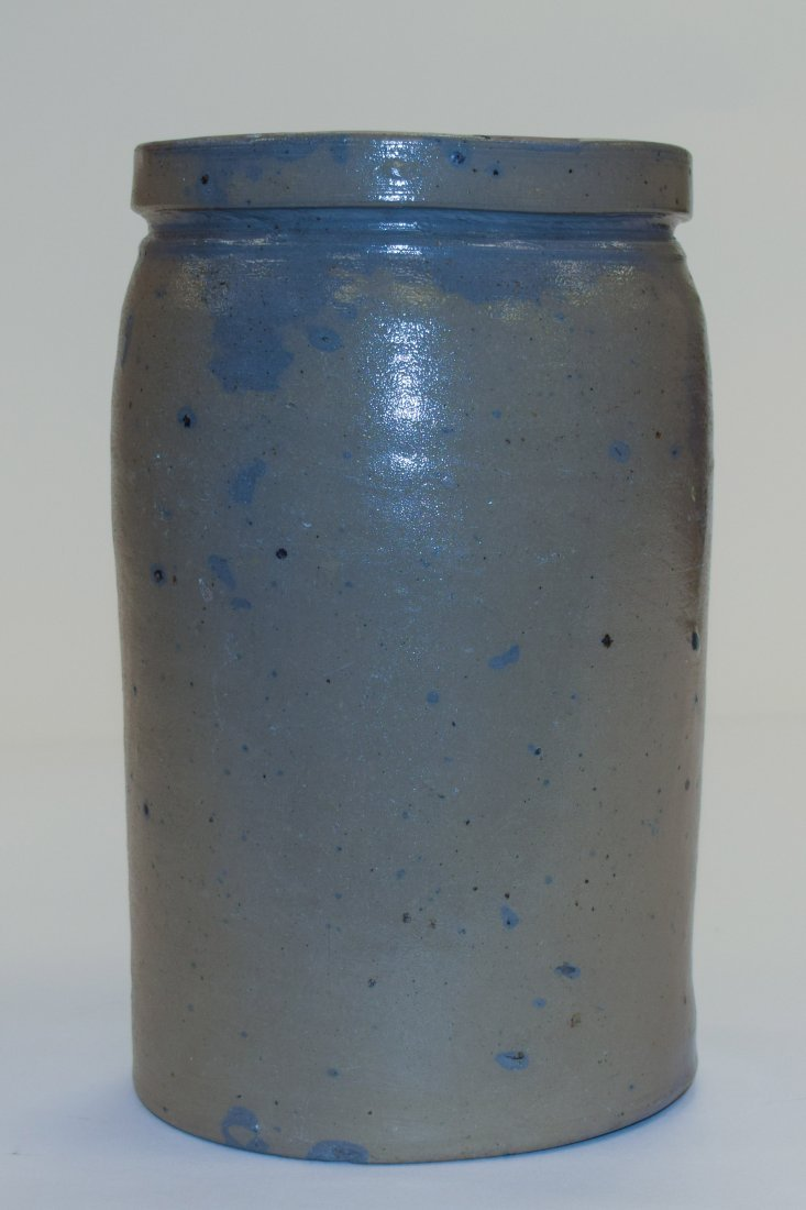 Grey Stoneware Pot