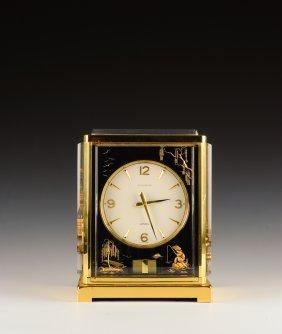 'marina', Brass Jaeger-lecoultre Atmos Swiss Clock
