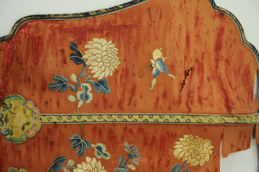 Pair of Embroidered Fans, Qing Dynasty - 2