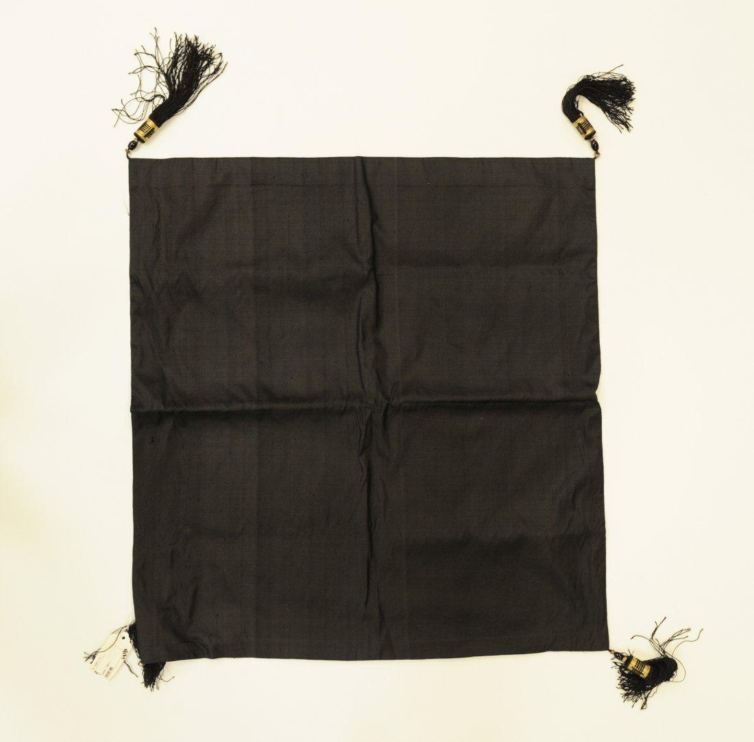 5-Claw Dragon, Black Pillowcase, 19th Century - 3