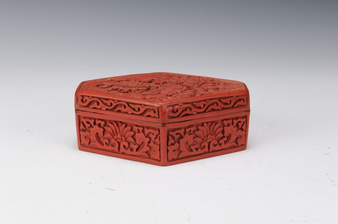 Group of 6 Cinnabar Boxes - 2