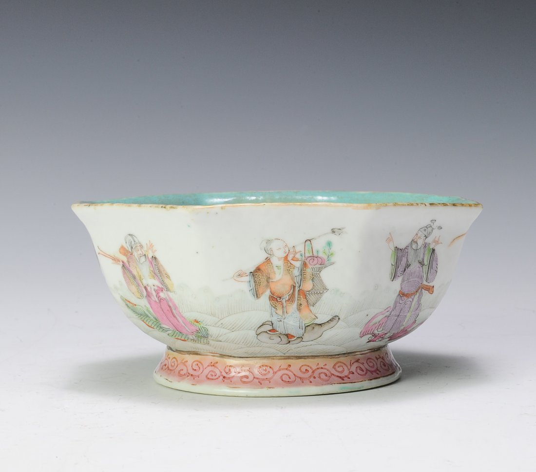 Famille Rose Bowl, 19th - 20th Century
