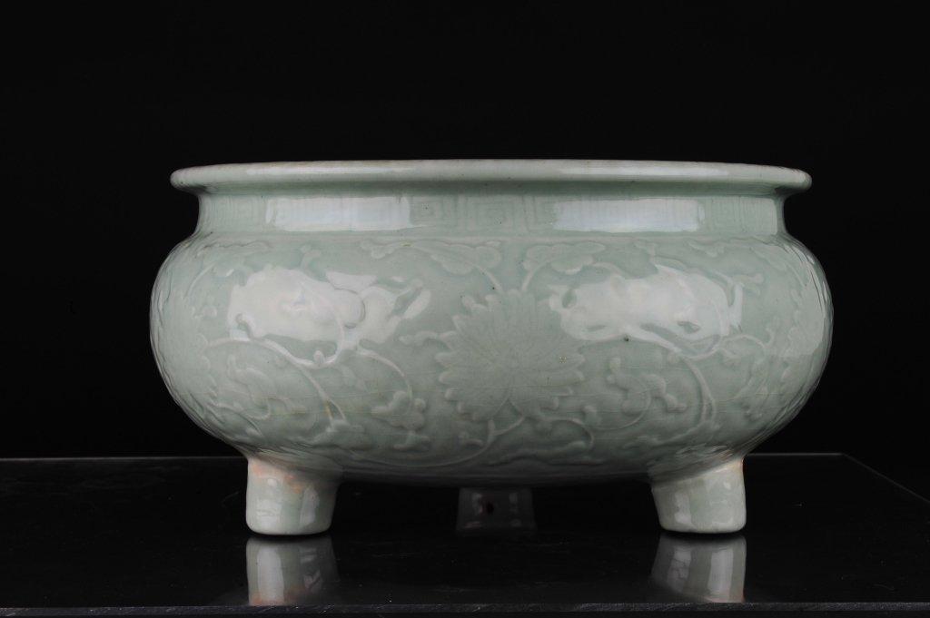 Celadon Tripod Censer, Early 19th Century - 2