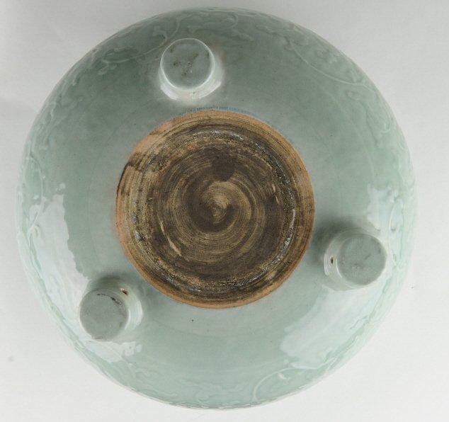 Celadon Tripod Censer, Early 19th Century - 6