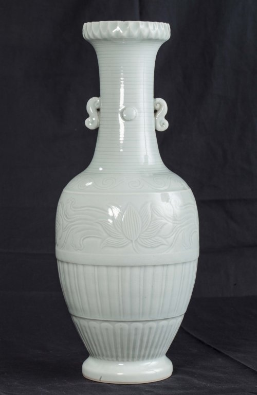 Celadon Glazed Vase, Republic Period