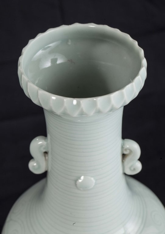 Celadon Glazed Vase, Republic Period - 5