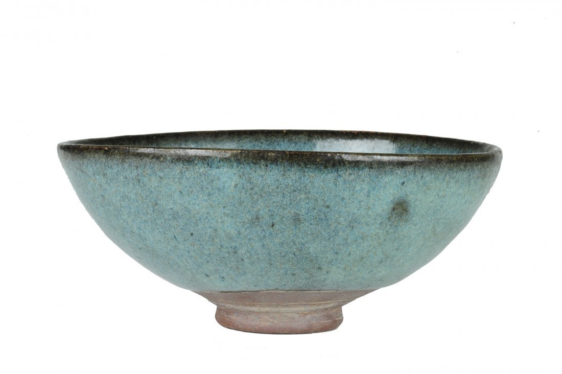 Jun Glazed Bowl, Ming or Earlier