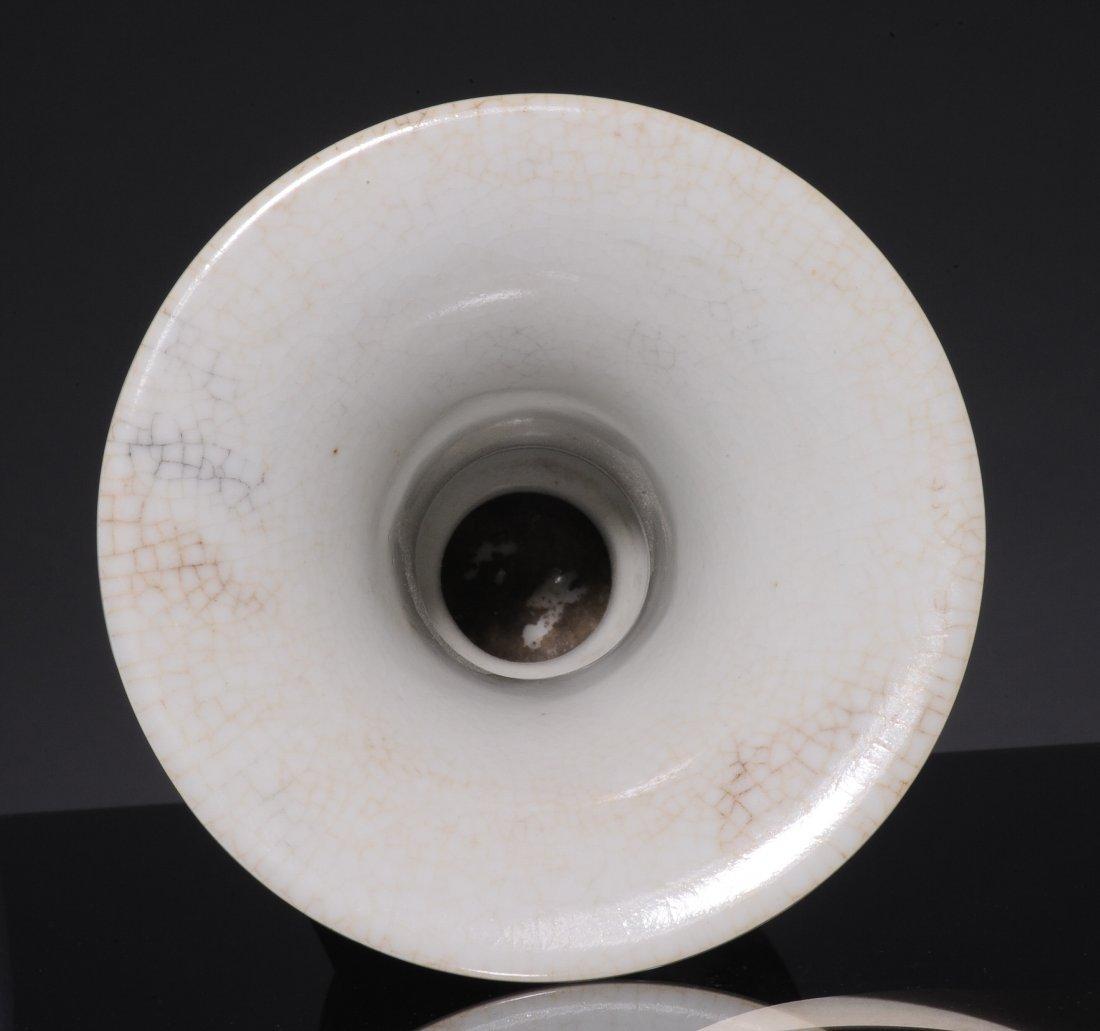 Red Gu Form Vase, 19th Century - 10