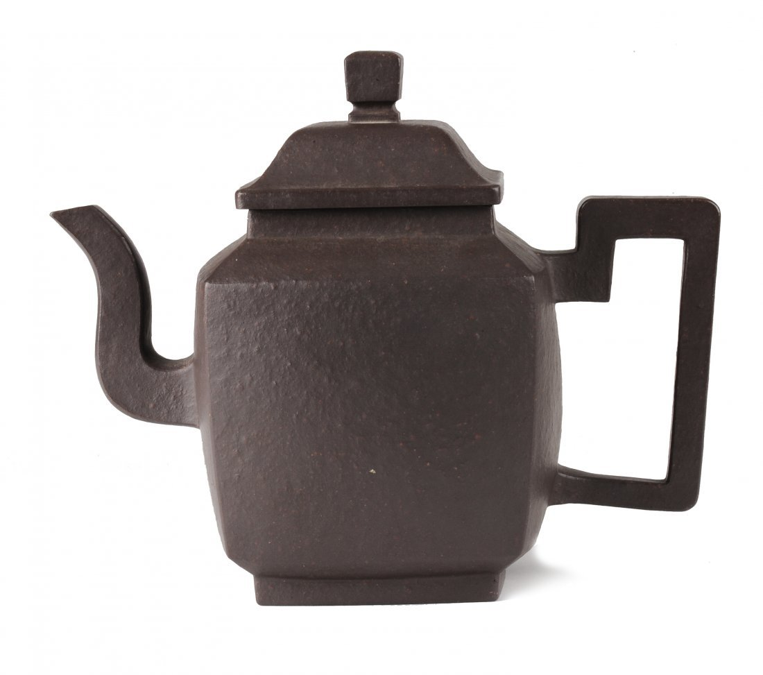 Square Yixing Teapot, Early 20th Century