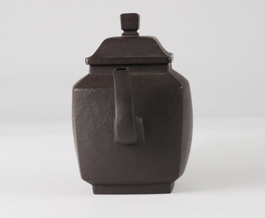 Square Yixing Teapot, Early 20th Century - 3