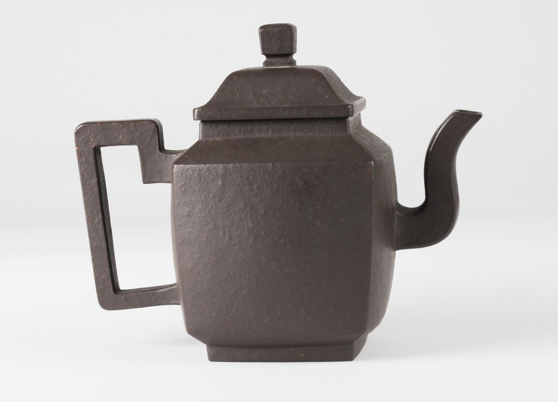 Square Yixing Teapot, Early 20th Century - 4