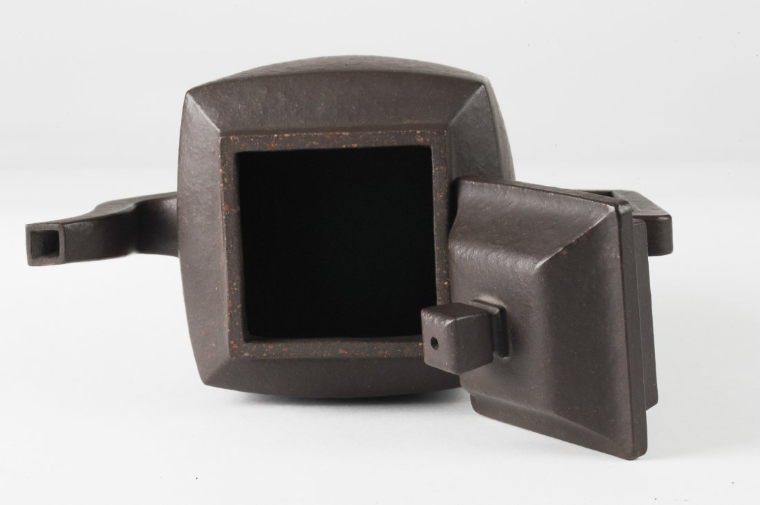 Square Yixing Teapot, Early 20th Century - 6