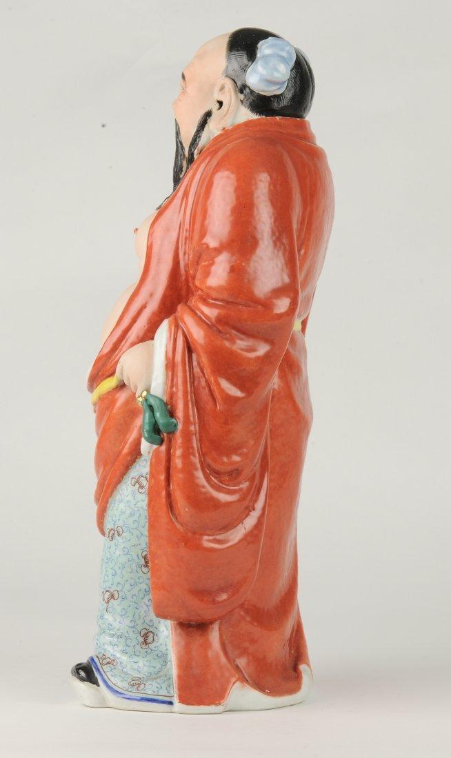 Porcelain Figure of Han Zhongli, Republic Period - 5